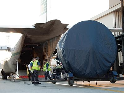 Transporte de repuestos de aeronaves (AOG)
